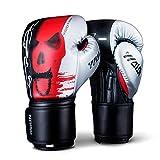 Guantes de Boxeo,guantes de boxeo,Gloves for Muay Thai MMA,Muay thai junior Saco de Cuero Mitones Kickboxing...