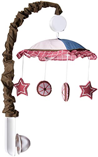 GEENNY Musical Mobile For Boutique Western Cowgirl 13 PCS Crib Bedding Set by GEENNY