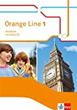 Orange Line 1: Workbook mit Audio-CD Klasse 5 (Orange Line. Ausgabe ab 2014) -