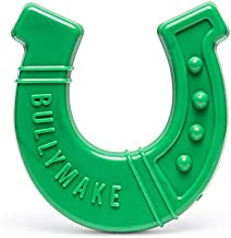 BULLYMAKE Horseshoe Nylon Dog Toy, for Tough Chewers, Made in USA