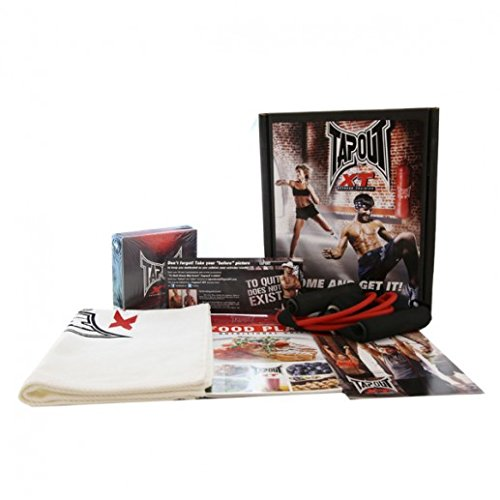 Tapout XT Workout DVD Set with MMA Home Fitness Trainer Program P90X Tony Horton Insanity Shaun T with UFC Fighters Diet Health Weight Loss Plan As Seen On TV Work Out Program