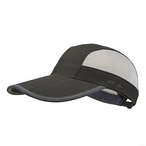GADIEMKENSD Secado rápido Deportes Sombrero Ligero Transpirable Suave al Aire Libre Run Cap (Muchos Estilos y Colores), Classic Upgrade, DimGray