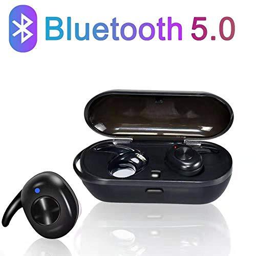Bluetooth 5.0-Headset, kabelloses Headset, automatische Popup-Kopplung, hochauflösende 3D-Stereo-Rauschunterdrückung, kabelloses Bluetooth-Headset, das mit Allen Mobiltelefonen kompatibel ist