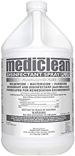 Mediclean Disinfectant Spray Plus (No Fragrance) Formerly Microban - 1 Gallon