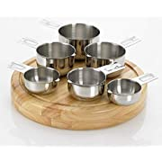 Bellemain Measuring Cups (Stainless Steel, 6 piece)