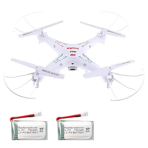 SYMA X5C-1 RC Quadcopter with Extra 2 720mAh...