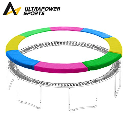 ULTRAPOWER SPORTS Trampoline Replacement Safety Pad Spring Cover - Universal Fits for 12ft Trampoline, Multicolor