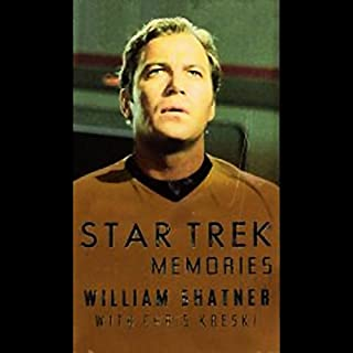 Star Trek Memories                   By:                                                                                                                                 William Shatner                               Narrated by:                                                                                                                                 William Shatner                      Length: 4 hrs and 21 mins     340 ratings     Overall 4.4