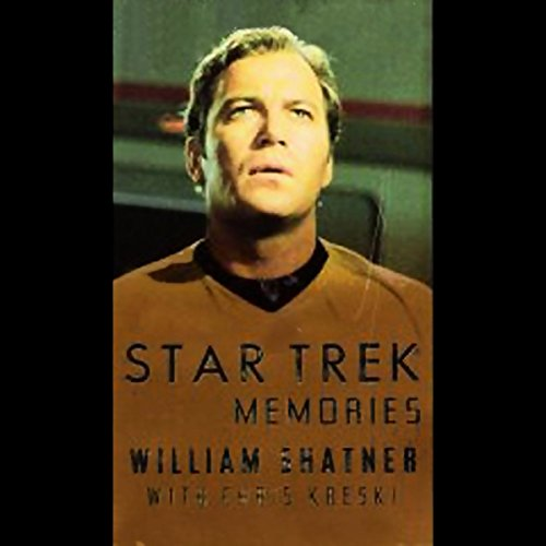 Star Trek Memories audiobook cover art