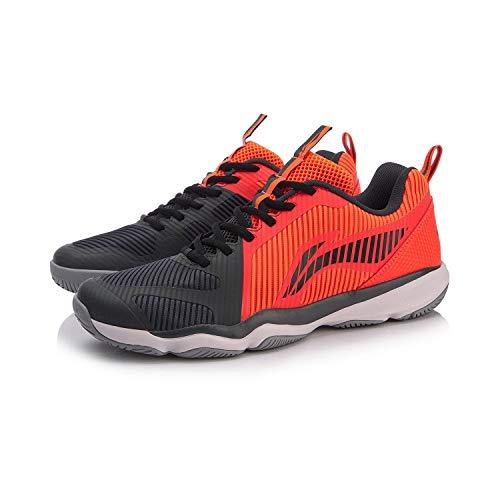 Li Ning AYTN053-4 Ranger TD Badminton / Casual Shoe Men Red/Black, Rosso (Colore: rosso), 42 1/3 EU