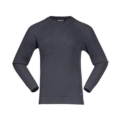 Bergans Stavali Sweat-Shirt Homme, Solid Dark Grey Modèle XXL 2020 Couche intermédiaire