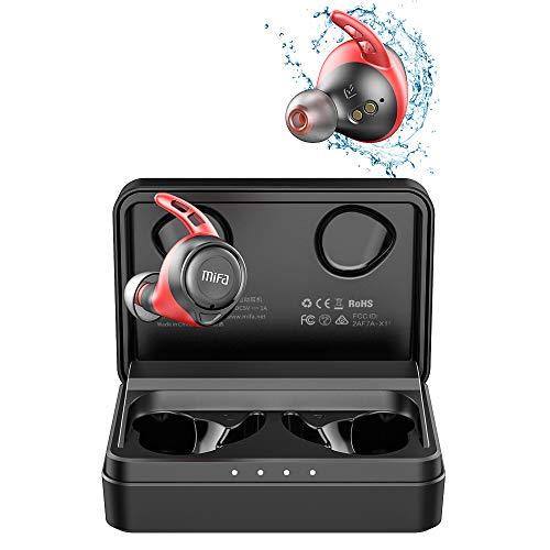 MIFA X11 Auriculares Inalambricos, True Wireless Earbuds apt-X Qualcomm, Auriculares In-Ear Bluetooth 5.0, IPX7 Auriculares Deportivos Impermeables, 100 Horas de Reproducción, Manos Libres Llamadas