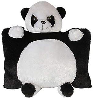 SRT Panda Pillow (Medium, Black)