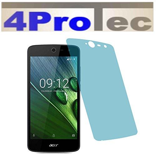 I 2X Crystal Clear klar Schutzfolie für Acer Liquid Zest 4G Premium Displayschutzfolie Bildschirmschutzfolie Schutzhülle Displayschutz Displayfolie Folie