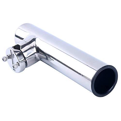 Amarine Made Edelstahl Rutenhalter 360° rotierbar Angelrutenhalter Clamp Auf Angelrutenhalter für Rails 22mm bis 25mm