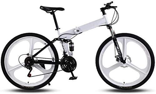 QDY Bicicletas de Carretera para Hombres y Mujeres, Bicicletas de 21 velocidades y 26 Pulgadas, Solo para Adultos, Cuadro de Acero con Alto Contenido de Carbono, Carreras de Bicicletas de carret
