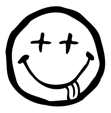 Dead Smiley Face Decal Sticker - Peel and Stick Sticker Graphic - - Auto, Wall, Laptop, Cell, Truck Sticker for Windows, Cars, Trucks