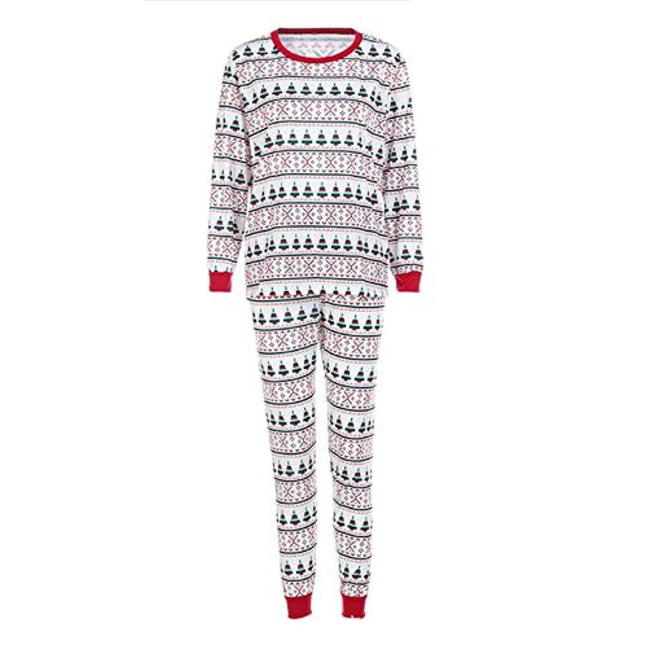 実質的に横自動的にQuquack 851家族クリスマスパジャマ家族の一致の服装父母娘女の子男の子服セットパジャマ家族の外観