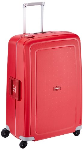 Samsonite S'Cure - Spinner L Suitcase, 75 cm, 102 Litre, Crimson Red