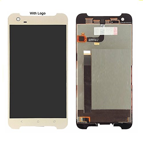 SIRIUS Care Compatible for HTC One X9 LCD Display + Touch Screen Digitizer Assembly (Gold)