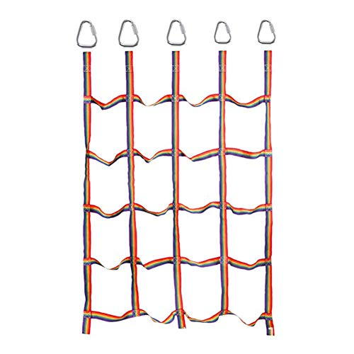Find Bargain cobud Garden Climbing Frame Net, Kids Climbing Net for Indoor and Outdoor Playing, 145 ...