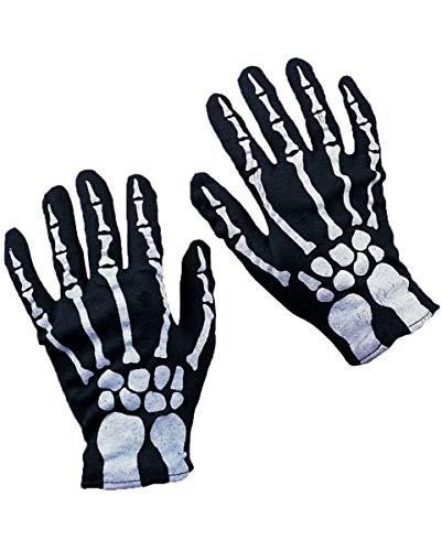 Horror-Shop Skeleton gants pour les enfants