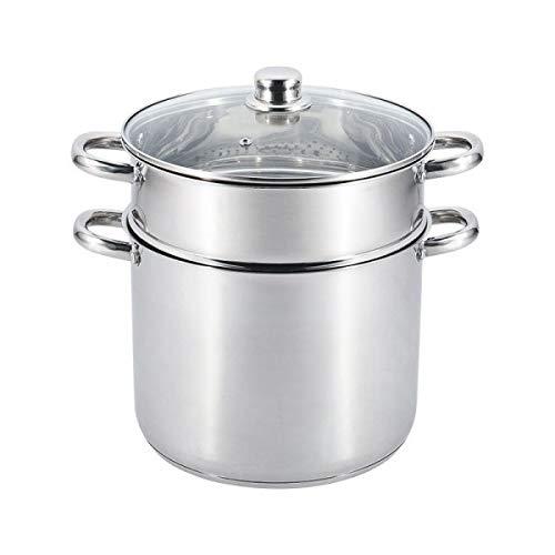 Table&cook - 014280 - Couscoussier inox 28cm 15l incook
