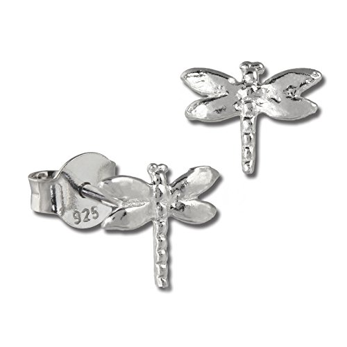 SilberDream, SDO401, orecchini a forma di libellula in argento sterling 925, per bambini