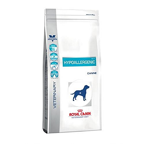 ROYAL CANIN Hypoallergenic Sec Chien kg. 14 – Secchi diététiques pour Chiens