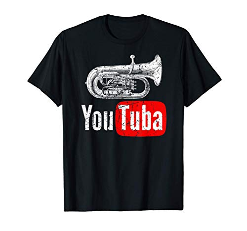 Tuba Marching Band Vintage Camiseta
