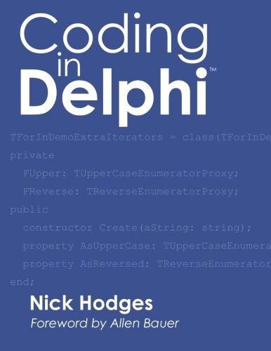 Coding in Delphi