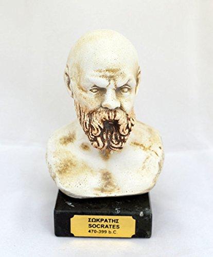 Griego Antiguo filósofo Sócrates Escultura Estatua