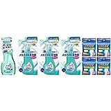 メガネのシャンプー除菌EX ミンティベリーの香り 本体 + つめかえ用 ×3個 + メガネ拭き ドライタイプ × 4個(40枚)セット+おまけ