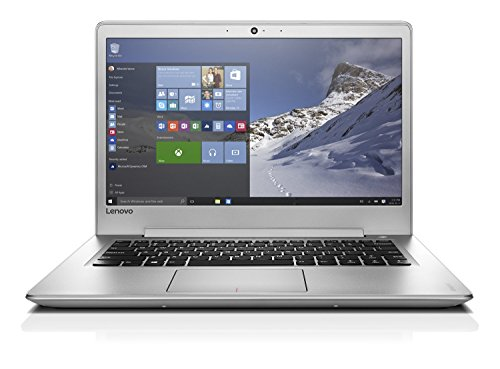 Lenovo IdeaPad 510s 35,6 cm (14,0 Zoll Full HD IPS matt) Laptop (Intel Core i5-7200U, 8GB RAM, 256GB SSD, AMD Radeon R5 M430 2GB, Windows 10 Home) silber
