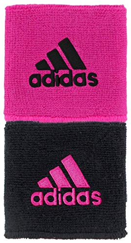 adidas Unisex Interval Reversible Wristband, Team Shock Pink/Black, ONE...