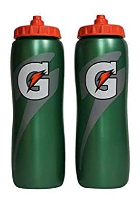 Gatorade 32 Oz Squeeze Water Sports Bottle - Pack of 2 - New Easy Grip Design