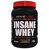 Insane Labz Insane Whey,100% Muscle Building Whey Protein, Natural Flavors,Pre or Post Workout, BCAA Amino Profile, Mass Gainer, Meal Replacement, 2 lbs, Chocolate Peanut Butter