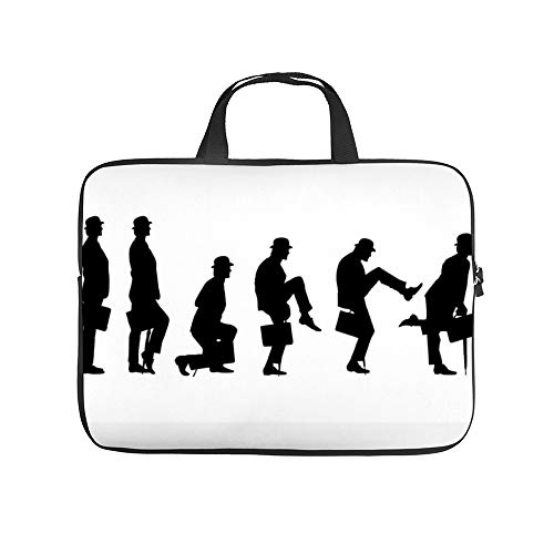 Ministry of Silly Walks T Shirt 10InchLaptopSleeveCaseProtectiveCoverCarryingBagfor9.7