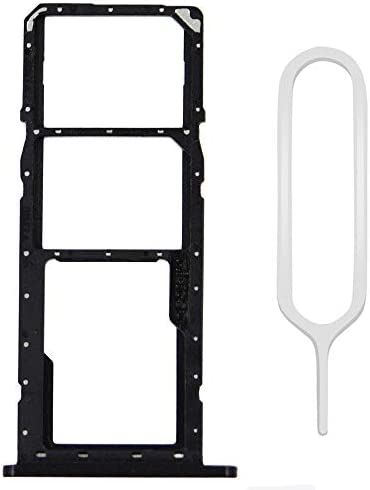 MMOBIEL Dual SIM Card Tray Replacement Compatible with Samsung Galaxy A11 A115 A01 A015 Black product image