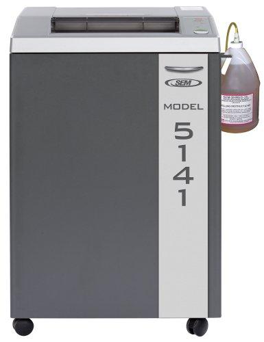 Find Bargain SEM Model 5141P 50-Sheet Cross-Cut Paper Shredder w/Auto Oiler