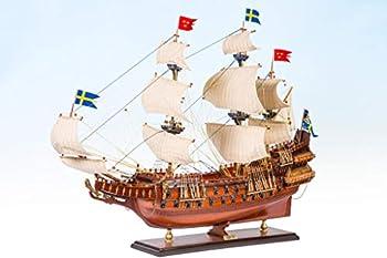 Seacraft Gallery Swedish Ship Wasa  Vasa  17.5  - Fully Assembled Model Ship - Wood Model Ship - Swedish Naval History