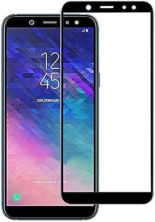 Película de Vidro 3D Samsung Galaxy A6+ 2018 Tela Toda, Cell Case, Película de Vidro Protetora de Tela para Celular, Preto