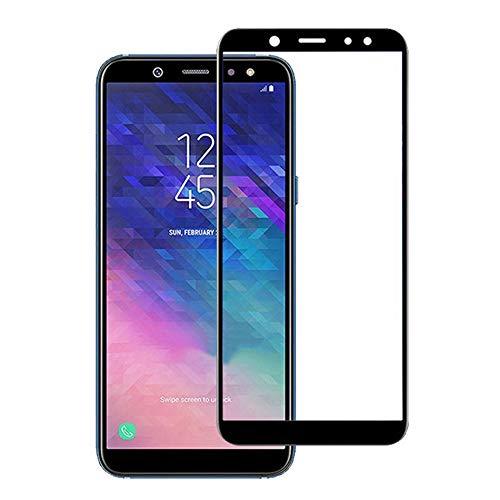 Película de Vidro 3D Samsung Galaxy J6 2018 Tela Toda, Cell Case, Preto