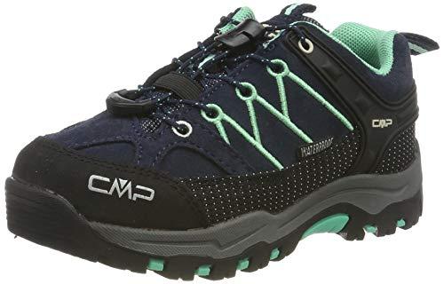 CMP Unisex-Kinder Rigel Low Trekking- & Wanderhalbschuhe, Blau (B.Blue-Aqua Mint 12nd), 29 EU
