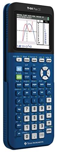 Texas Instruments TI- 84 Plus CE Denim Graphing Calculator Photo #2