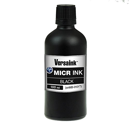 VersaInk VIMB1S-6512 Black MICR Ink 100ml -...