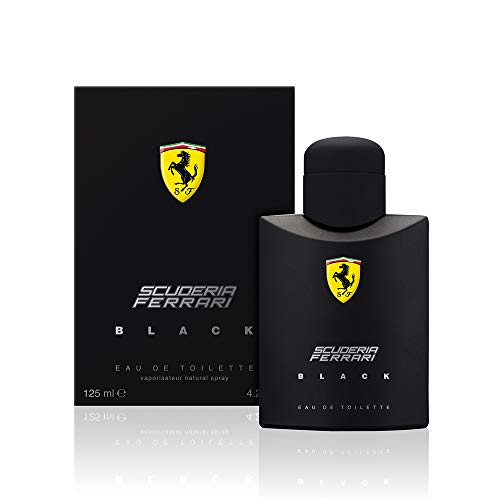 Ferrari Scuderia Black homme/men, Eau de Toilette, Vaporisateur/Spray 125 ml, 1er Pack (1 x 125 ml)