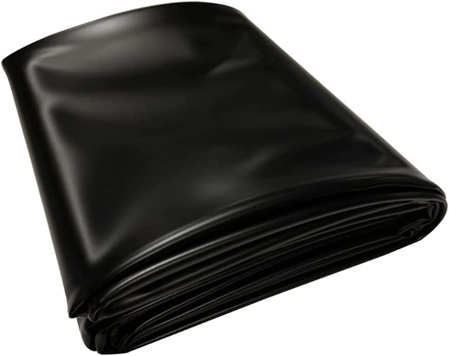 Thicken Weekly update Dedication 0.6mm Rubber Pond Liner Durable Plant Fish Friendly and