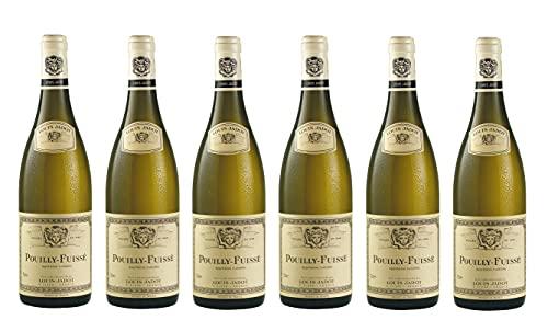 6x 0,75l - 2018er - Louis Jadot - Pouilly-Fuissé A.C. - Burgund - Frankreich - Weißwein trocken