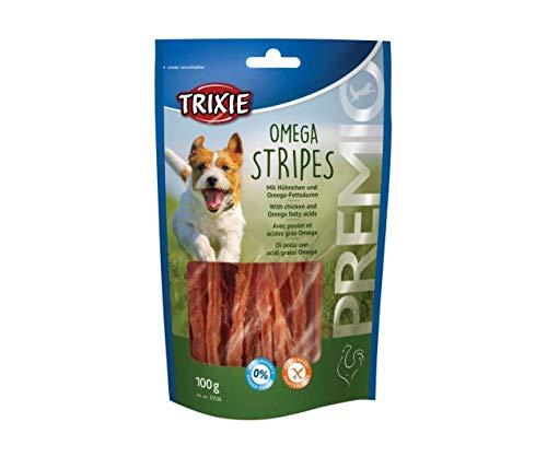Premio Omega Strisce di Luce - Carne di Pollo 100g, Trixie, Specialità di Carne, Specialità, Cani